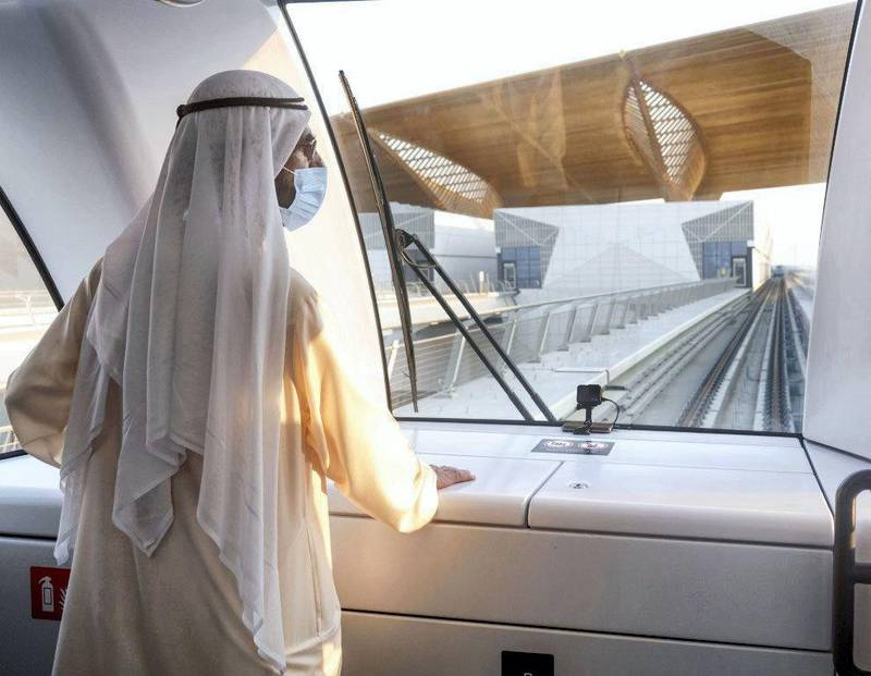 His Highness Sheikh Mohammed bin Rashid Al Maktoum, Vice President, Prime Minister and Ruler of Dubai, has officially inaugurated the Route 2020 Project. WAM