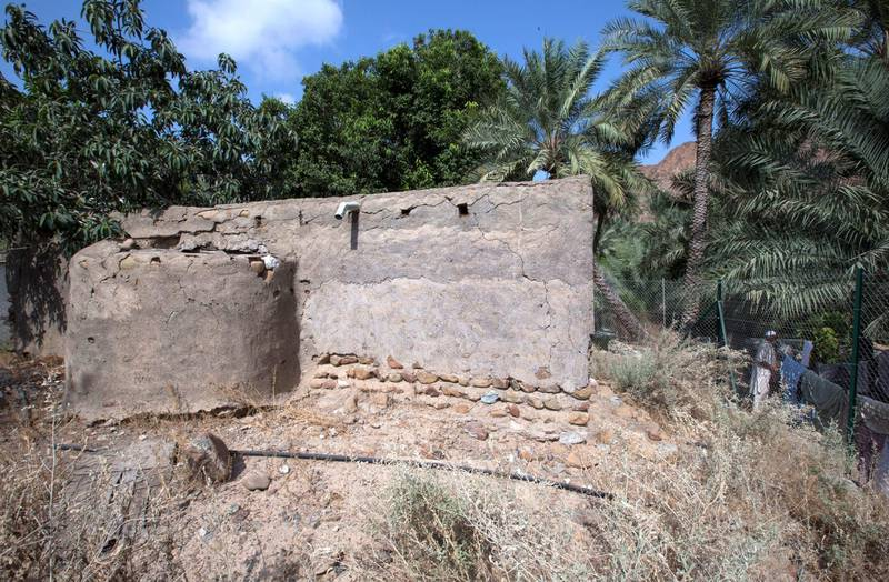 Sharjah, United Arab Emirates-  The oldest mosque in the area now abandoned at Al Nahwa Village in Sharjah.  Leslie Pableo for The National for Ruba Haza