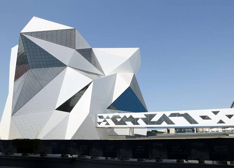 CLYMB Abu Dhabi. Courtesy Miral