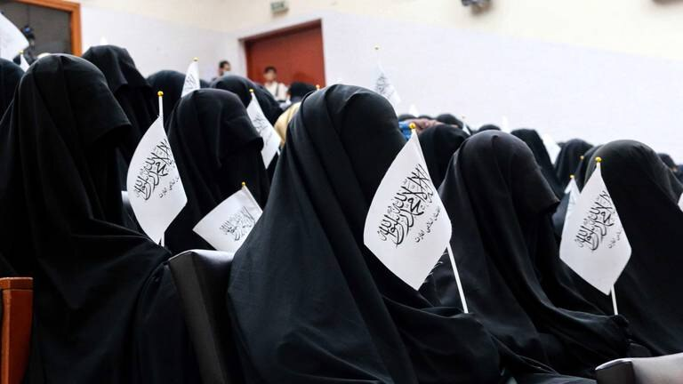 An image that illustrates this article A burqa isn't Afghan dress, say women enraged by Taliban restrictions