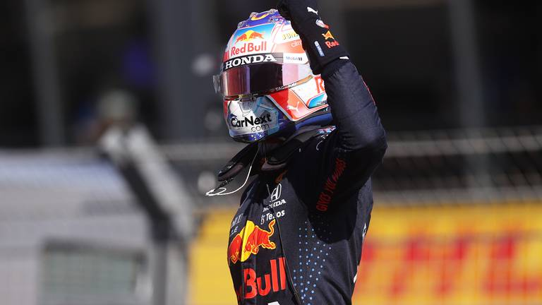 An image that illustrates this article Verstappen delights Dutch GP fans after taking pole position ahead of Hamilton