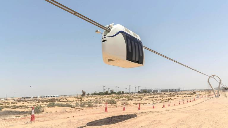 An image that illustrates this article Sharjah sky pods inventor looks to low-cost space journeys next