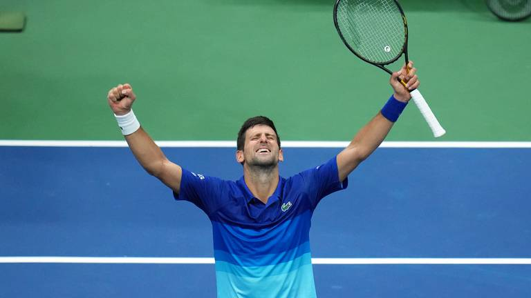 An image that illustrates this article Djokovic rallies in US Open to edge closer to Grand Slam
