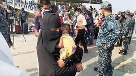 Bangladesh begins shipping Rohingya refugees to remote island