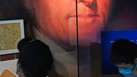 Former US President Thomas Jefferson's copy of the Quran at Dubai Expo's American pavilion