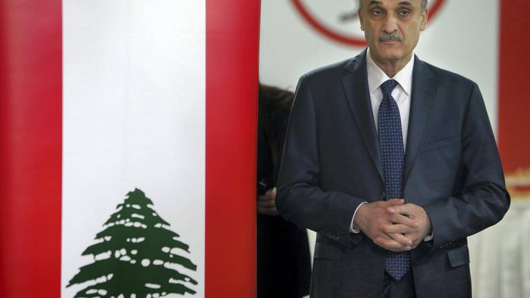 An image that illustrates this article Interpol denies receiving Red Notice from Syria for Lebanese party leader