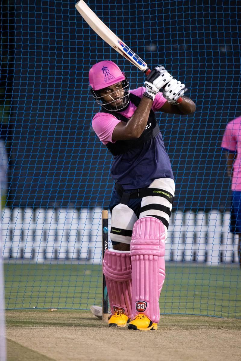 Sanju Samson, the Rajasthan Royals batsman. Courtesy Rajasthan Royals