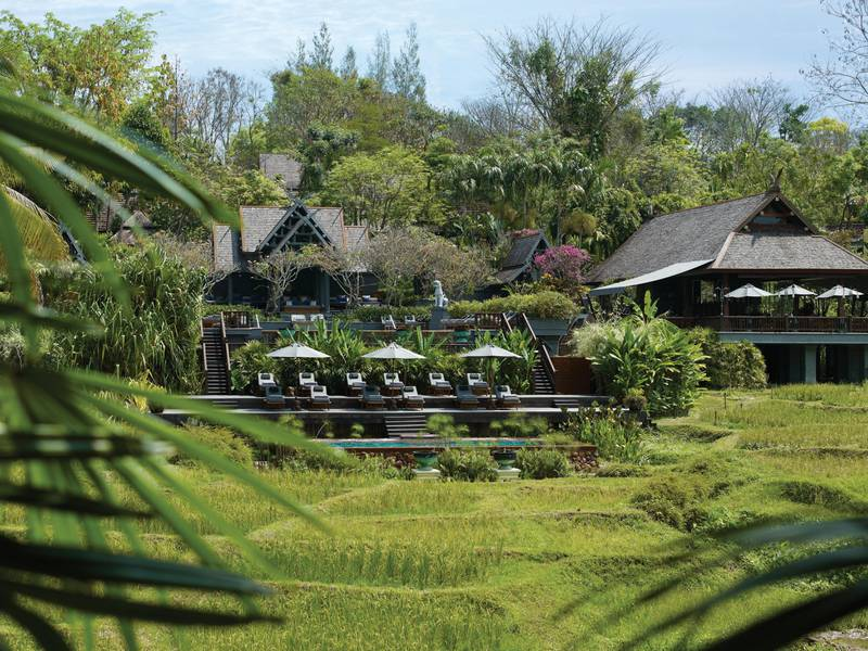 A handout photo of the general view of Four Seasons Chiang Mai resort (Photo by Markus Gortz)