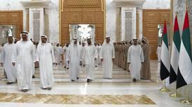 UAE Rulers have iftar at Abu Dhabi's Qasr Al Watan — in pictures