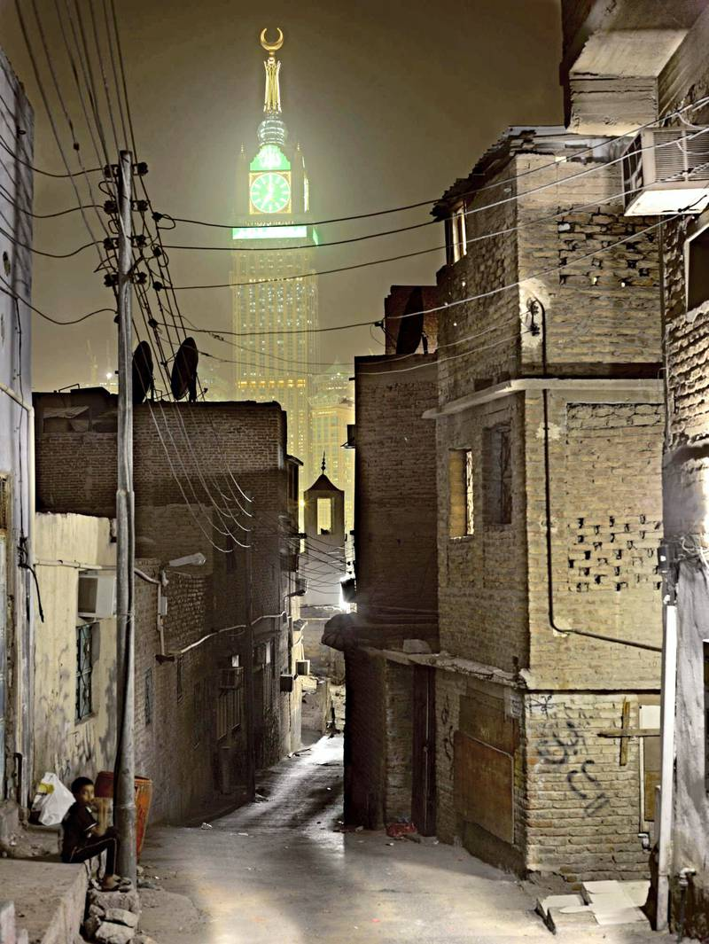 Ahmed Mater (Saudi, born 1979). Stand in the Pathway and See, 2012. C-print, 94 ½ x 71 in. (238.8 x 180.3 cm). Courtesy of the artist. © Ahmed Mater