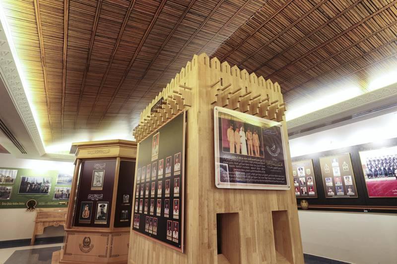 Dubai, United Arab Emirates - November 23rd, 2017: The Golden Jubilee hall. Story about the Dubai Police Museum. Thursday, November 23rd, 2017 at Dubai Police Museum, Dubai. Chris Whiteoak / The National