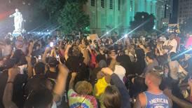 Seven shot in Kentucky as hundreds protest against police killing