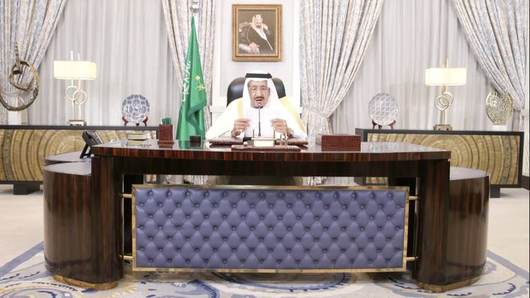 An image that illustrates this article UNGA 2021: Saudi king tells UN kingdom supports efforts to prevent nuclear Iran
