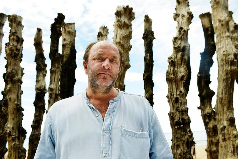 SAINT MALO, FRANCE - JUNE 8: English writer William Dalrymple poses during a portrait session held on June 8, 2014 in Saint Malo, France. (Photo by Ulf Andersen/Getty Images)
