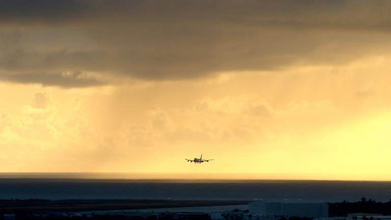 An image that illustrates this article Aviation sector pledges to increase use of greener fuels by 2030
