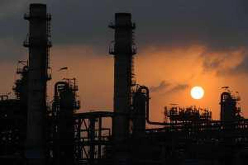 April 6, 2009-provided images of LNG production train of QatargasCourtesy Qatar Gas *** Local Caption ***  DSC_0872.jpg