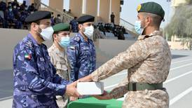 Graduation joy for UAE's 15th class of national service recruits