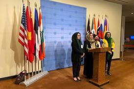 Afghan women implore UN leaders not to give Taliban a seat