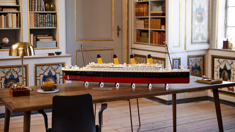 An image that illustrates this article 'Titanic' challenge: Lego launches largest-ever set
