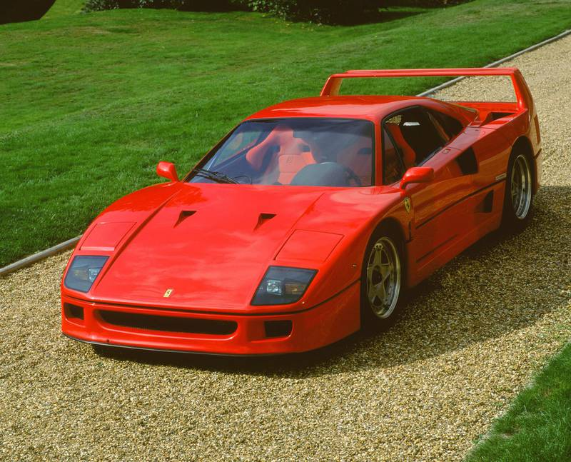 1989 Ferrari F40, 2000. (Photo by National Motor Museum/Heritage Images/Getty Images)