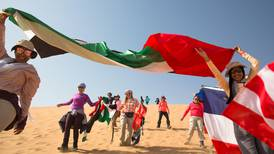 Women trek from Abu Dhabi to Al Ain to honour the UAE's heritage - in pictures