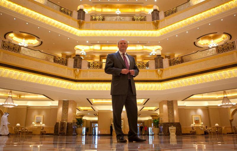 May 31, 2011 - Royal Bank of Scotland Chief Executive Stephen Hester poses for a portrait at the Emirates Palace Hotel in Abu Dhabi, United Arab Emirates. Pawel Dwulit / The National