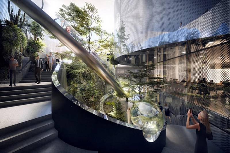 Luxembourg pavillion. Courtesy: Luxembourg Pavilion Expo 2020 Dubai