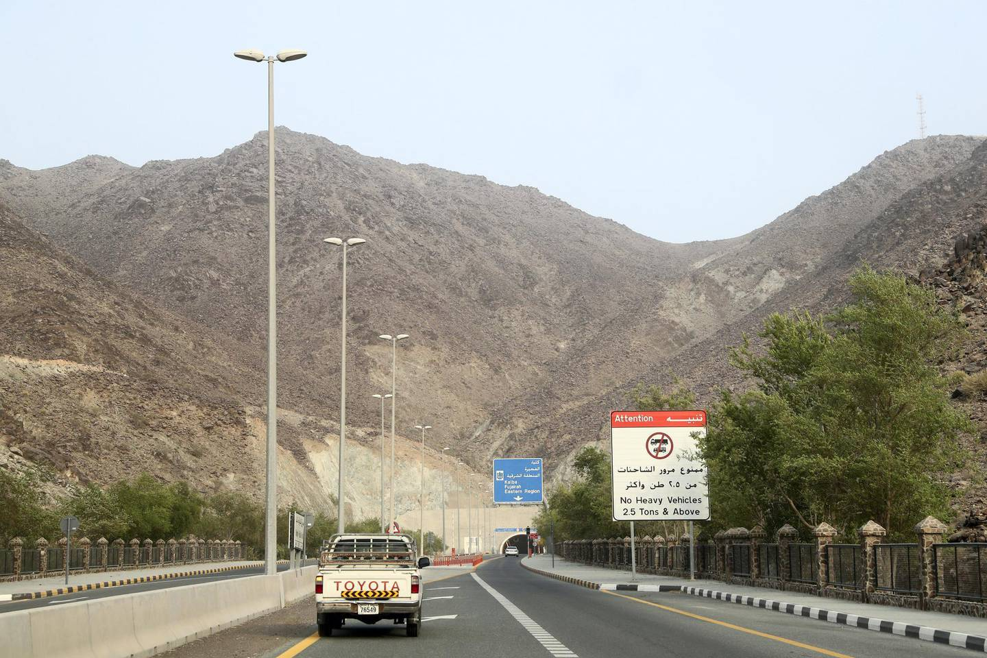 Sharjah, United Arab Emirates - September 24, 2018: Neighbourhood watch series. Wadi Al Helo town also known as sweet valley. Residents talking about the town, archaeological site and the valley. Monday, September 24th, 2018 at Wadi Al Helo, Sharjah. Chris Whiteoak / The National