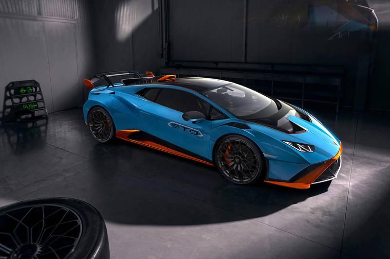 Lamborghini Huracán STO - Super Trofeo Omologata. Courtesy  Automobili Lamborghini S.p.A.