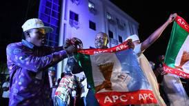 Nigeria's president is declared winner after bumpy vote