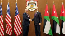 US signs 5-year aid package with Jordan
