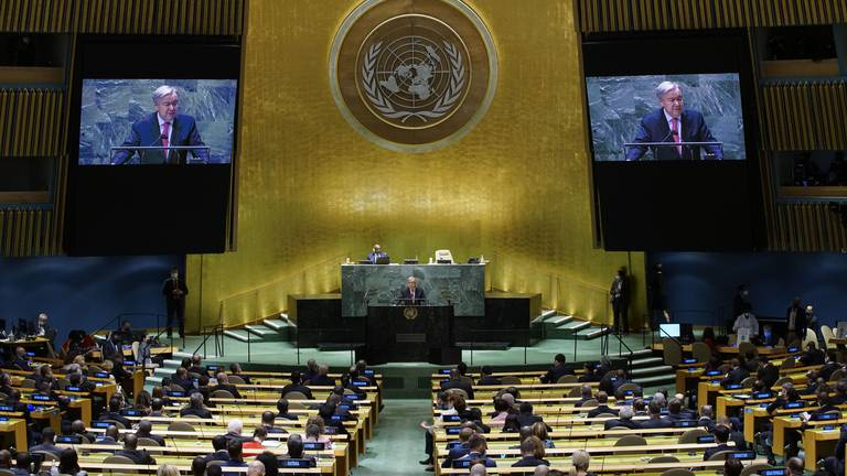 An image that illustrates this article UN General Assembly opens on a gloomy note