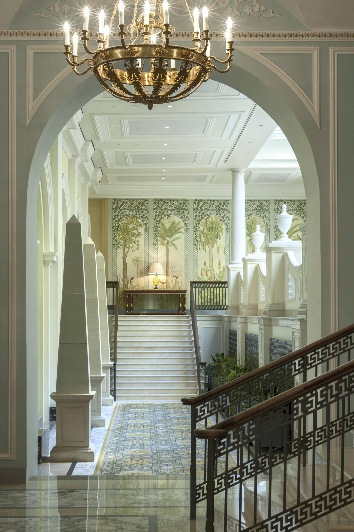 Four Seasons Hotel Lion Palace St. Petersburg. Courtesy Four Seasons Hotel Lion Palace St. Petersburg