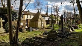 Save from ruin: Explorer Richard Burton's stone Syrian desert tent rotting in south London graveyard