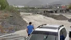 Heavy rain and floods hit parts of the Northern Emirates