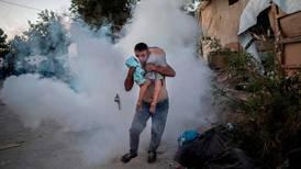 Fire at Greek migrant camp after death of Iraqi asylum seeker