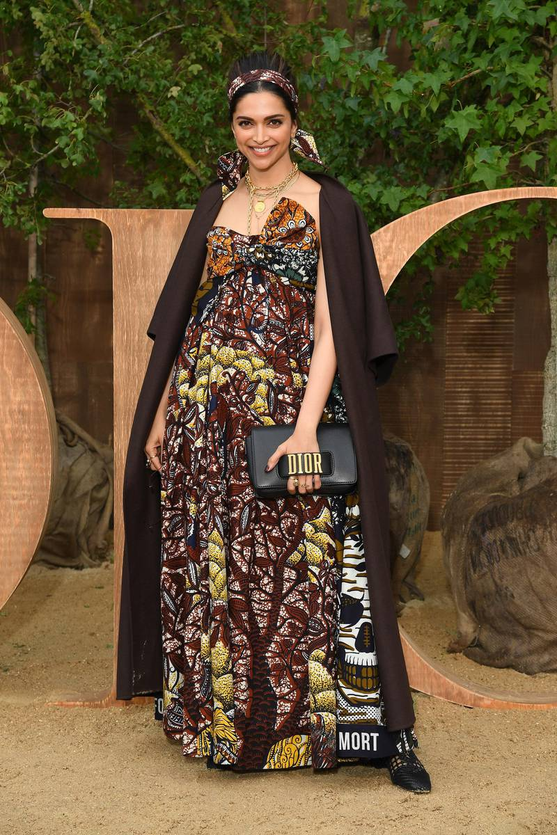 PARIS, FRANCE - SEPTEMBER 24: Deepika Padukone attends the Christian Dior Womenswear Spring/Summer 2020 show as part of Paris Fashion Week on September 24, 2019 in Paris, France. (Photo by Pascal Le Segretain/Getty Images for Dior)