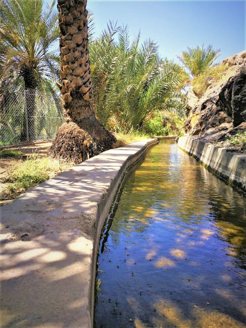 Mokazzah village has six aflaj (water canals). Oman News Agency
