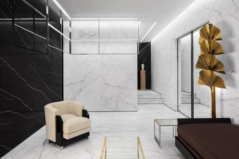 Saint Laurent store at The Dubai Mall. Abbadie Herve / Saint Laurent