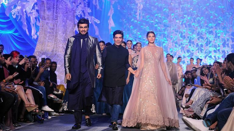 An image that illustrates this article Ambani's Reliance buys stake in Bollywood stylist Manish Malhotra's fashion house