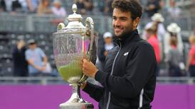 Matteo Berrettini edges Cameron Norrie to win Queen's Club title and cap 'unbelievable week'