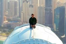 Watch Sheikh Hamdan ride on top of Ain Dubai as it opens to the public