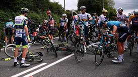 Police still looking for spectator who caused Tour de France crash