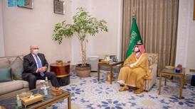Saudi Crown Prince Mohammed bin Salman discusses Yemen with US special envoy Tim Lenderking