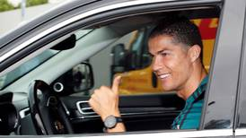 Cristiano Ronaldo out of quarantine and back at training with Juventus - in pictures