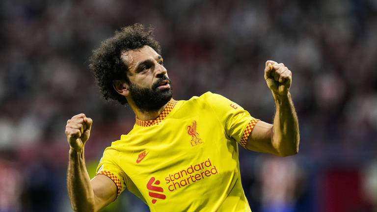 An image that illustrates this article Salah breaks another Liverpool scoring record - in pictures