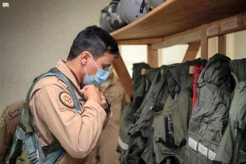 Saudi Royal Air Force Participates in Desert Flag Exercises 2021 in Al Dhafra Air Base
