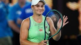 'It's all good': Ashleigh Barty romps through after stuttering start at Australian Open