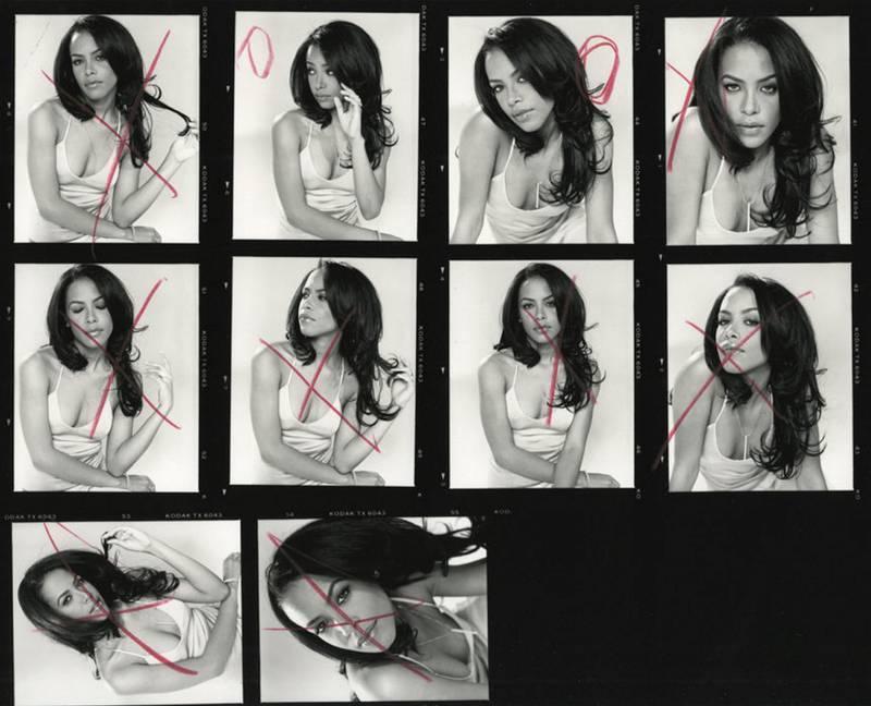 Eric Johnson - Aaliyah - Manhattan, 2001. A Visual History of Hip-Hop exhibition in Manarat Saadiyat. photo: Nermine Kashef