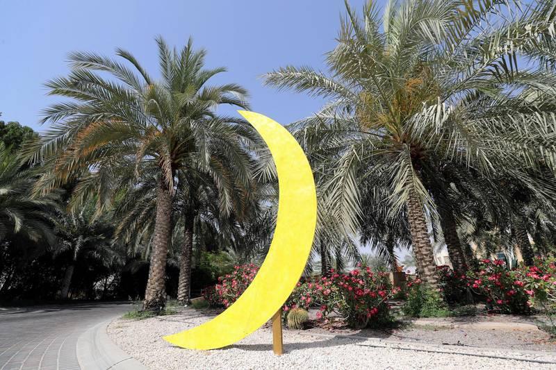 Dubai, United Arab Emirates - Reporter: N/A. News. Ramadan decorations go up in Sustainable City, Dubai. Monday, April 12th, 2021. Dubai. Chris Whiteoak / The National